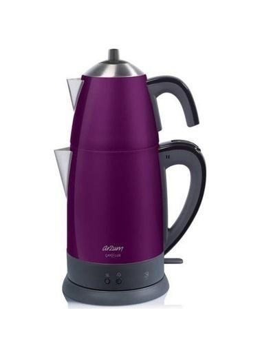 Arzum Ar3055 Çaycı Lux Çay Makinesi Mürdüm Mürdüm